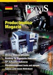 Productronica Magazin - kunden.vogel.de - Vogel Business Media