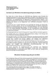 Senator für Umwelt, Bau, Verkehr und Europa - Bremen