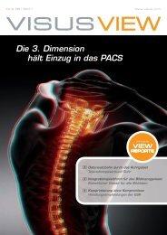 Die 3. Dimension hält Einzug in das PACS - Visus Technology ...