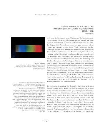 josef maria eder und die wissenschaftliche fotografie ... - Albertina