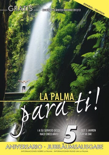 La Palma para ti! Das Infomagazin der Insel