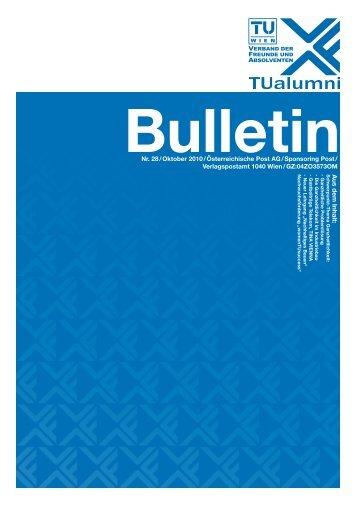 Magazin Oktober 2010 - TUalumni