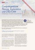 Computergestützte Planung, Implantation und CAD/CAM - Seite 2