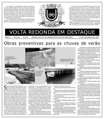 VOLTA REDONDA EM DESTAQUE