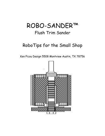 """ROBO-SANDERâ""""¢ - Luthiers Friend"""
