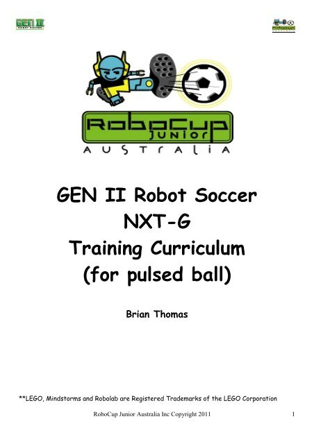 GEN II NXT G Simple Soccer Player pdf - RoboCupJunior Australia