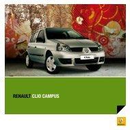 RENAULT CLIO CAMPUS vOCê MOTORIzAdO SEM ... - robmar