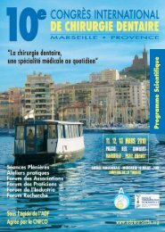 Programme - Association Dentaire de Provence