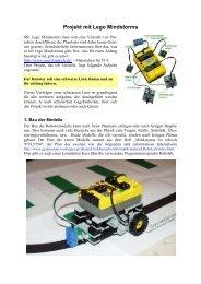 Projekt mit Lego Mindstorms - Bayern