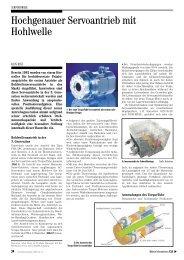 Hochgenauer Servoantrieb mit Hohlwelle - Harmonic Drive AG