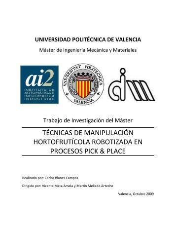 7. Tesina.pdf - RiuNet - Universidad Politécnica de Valencia