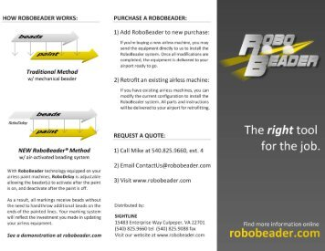1) Add RoboBeader to new purchase