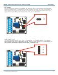 B0099 - Robo Claw 2 Channel 5A Motor Controller ... - Basic Micro - Page 7
