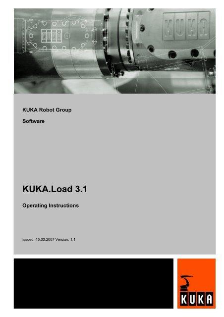 Operating Instructions (PDF) - KUKA Roboter