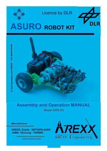 ASURO ROBOT KIT - Arexx