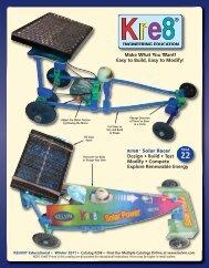 Kre8® Solar Racer Design • Build • Test Modify ... - Kelvin Electronics