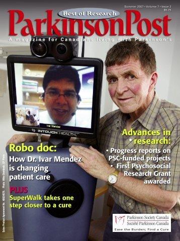 Robo doc: Robo doc: - Parkinson Society Canada