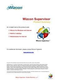 Wizcon Supervisor - Conlab