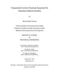 Chapter 5 - Software Development - Virginia Tech