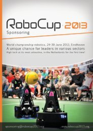 Download English sponsor brochure - RoboCup 2013