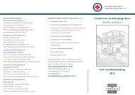 Fort- und Weiterbildung 2012 Fachseminar für Altenpflege Bonn ...