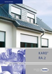 Roma Karo - Weidl Rolladenbau