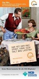 Faltblatt VVS-VCD-Abo 2012
