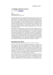 Maligne epitheliale Tumoren - Derma-Net-Online.de