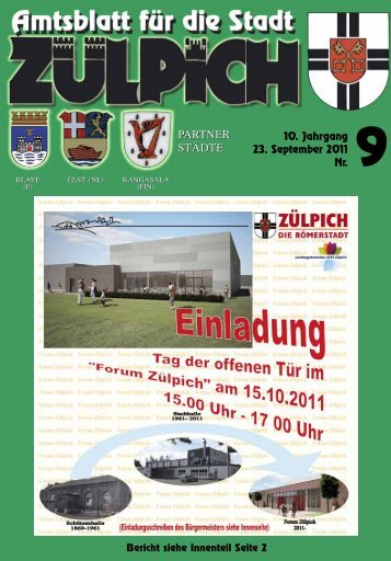 Amtsblatt0911.pdf - Stadt Zülpich