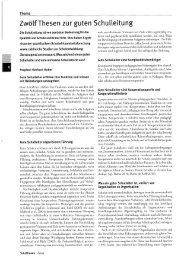 12 Thesen zu guter Schulleitung - Institut für Bildungsmanagement ...