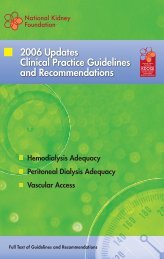 2006 Updates Clinical Practice Guidelines and Recommendations