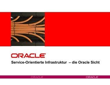 (Microsoft PowerPoint - 3. \334berblick_SOA-Plattform.ppt) - Oracle