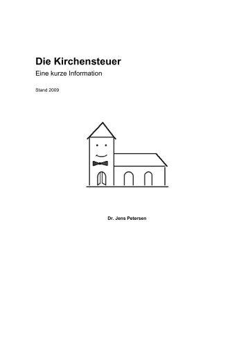 Die Kirchensteuer - eine kurze Information - Steuer-Forum-Kirche