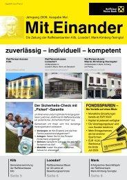 zuverlässig – individuell – kompetent - Raiffeisenbank Region Mank