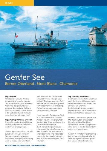 Genfer See - Stoll Reisen International
