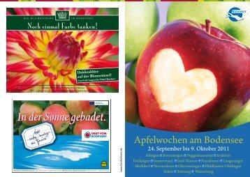 Apfelwochen am Bodensee - Ferienlandschaft Gehrenberg-Bodensee