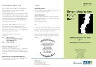 Gerontologisches Forum 2011 - LVR-Klinik Bonn