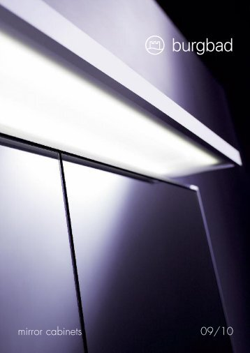 mirror cabinets 09/10 - badkamer documentatie online