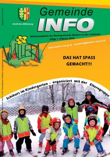 Folge 01/2010 (1,53 MB) - Wallern - Land Oberösterreich