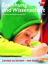 Erziehung und Wissenschaft 01/2004 - GEW