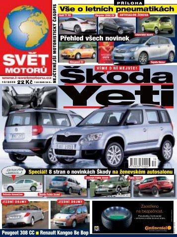 Škoda - Svět motorů