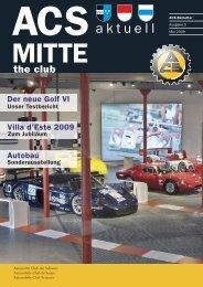 Ausgabe 5 MITTE - ACS Automobil-Club der Schweiz