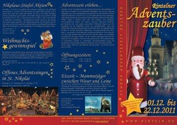 Advents- zauber - Stadt Rinteln