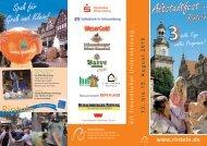 Altstadtfest in - Stadt Rinteln