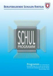 schulprogramm.pdf - Berufsbildende Schulen Rinteln