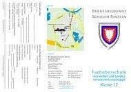 Berufsbildende Schulen Rinteln Fachoberschule Klasse 12