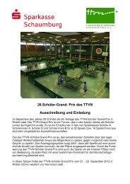 Grand Prix 2012 Ausschreibung und Anmeldeformular - TTVN