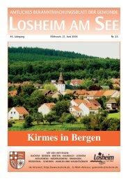 KW 25_2006 Losheim - Gemeinde Losheim am See