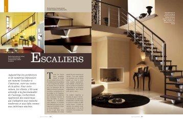 Dossier : Escaliers - Reussir son habitat
