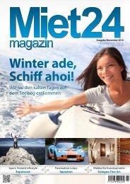 Winter ade, Schiff ahoi!